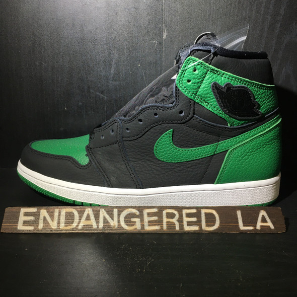 Air Jordan 1 Pine Green Black Sz 7.5