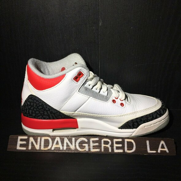 Air Jordan 3 Fire Red Sz 4.5