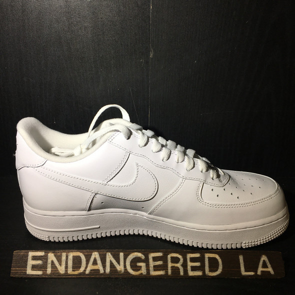 Nike Air Force 1 Supreme White Sz 11 (#18279)