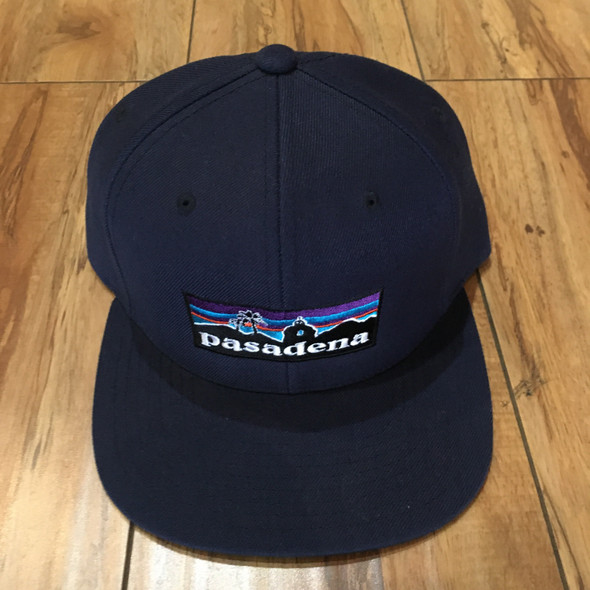 From The Ground Up Pasadena Snap Back Dark Blue (#7067)