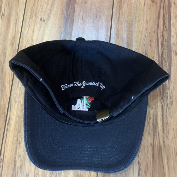 From The Ground Up LA Dad Hat Black