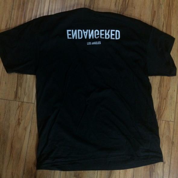 .Endangered Reflection Logo Tee Sz L