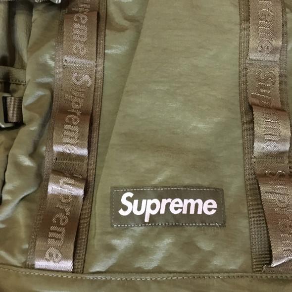 Supreme Backpack Olive F/W 20'