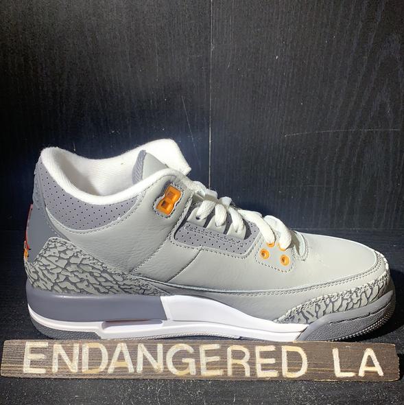 Air Jordan 3 Cool Grey 21' Sz 5.5