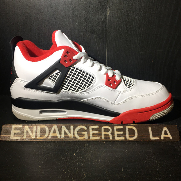 Air Jordan 4 Fire Red 20' Sz 5 1