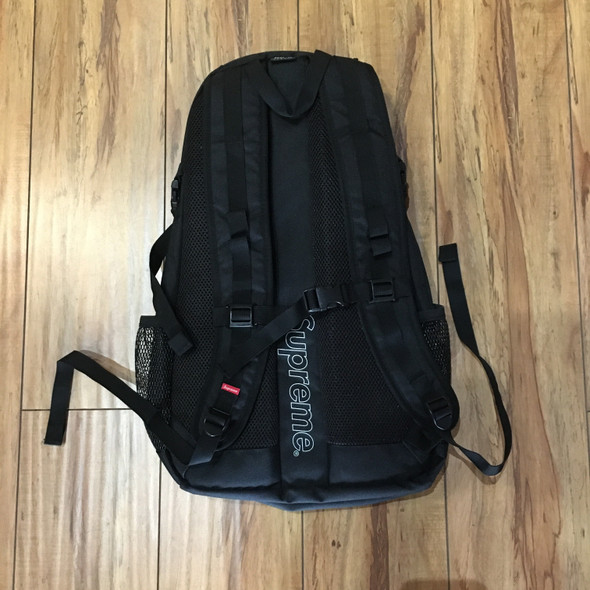 Supreme Backpack Mesh Black S/S 20'