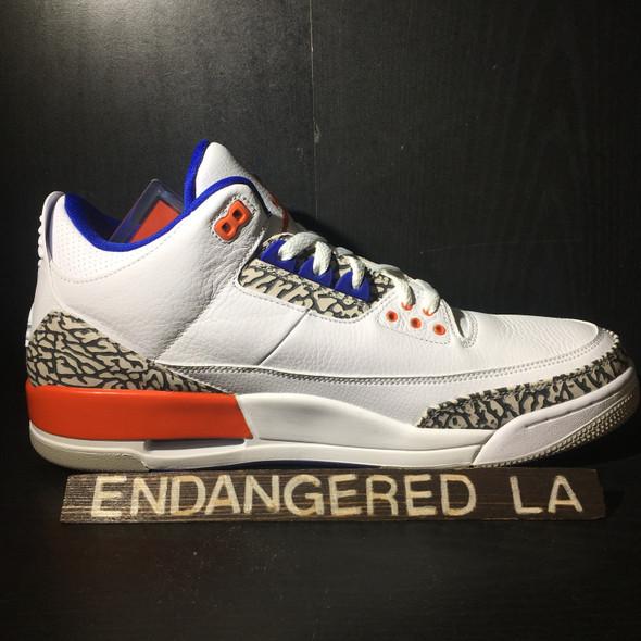 Air Jordan 3 Knicks Sz 14