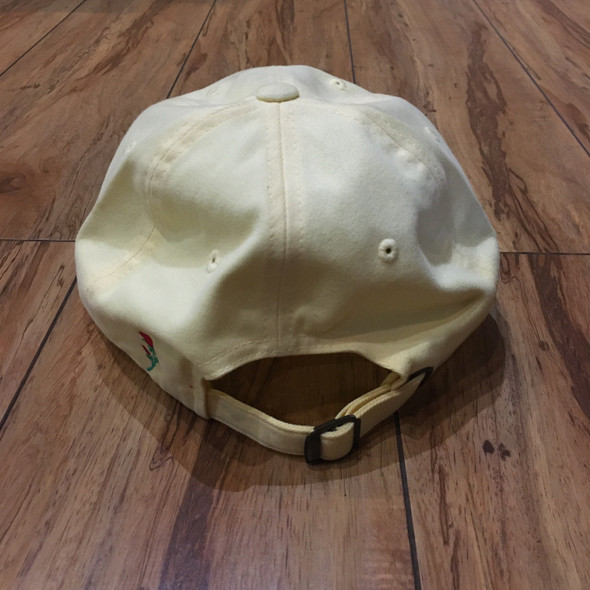 From The Ground Up City of Roses Pasadena Pale Yellow Dad Hat (#6421)