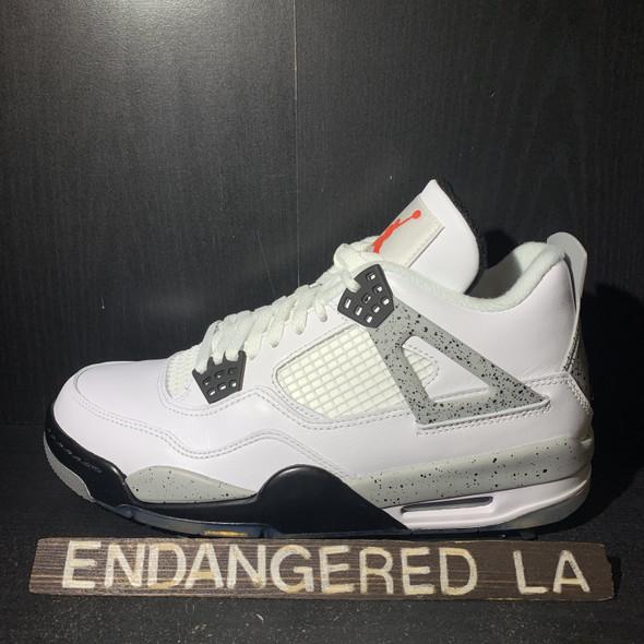 Air Jordan 4 Golf White Cement Sz 8