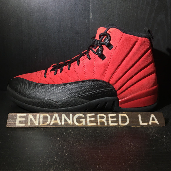 Air Jordan 12 Reverse Flu Game Sz 7.5
