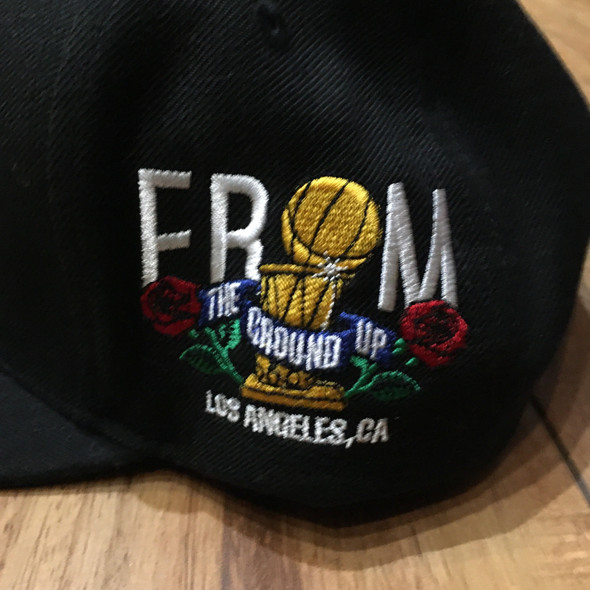 From The Ground Up Lakers Snap Back Black