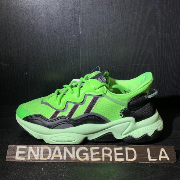 Adidas Ozweego Neon Green Sz 4.5