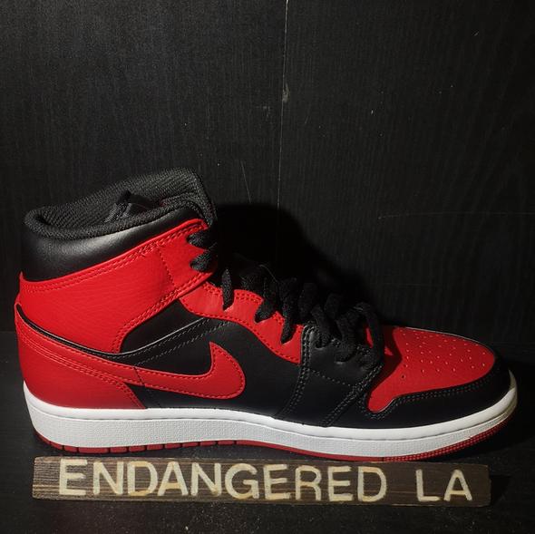 Air Jordan 1 Mid Bred Sz 10.5 (#18366)