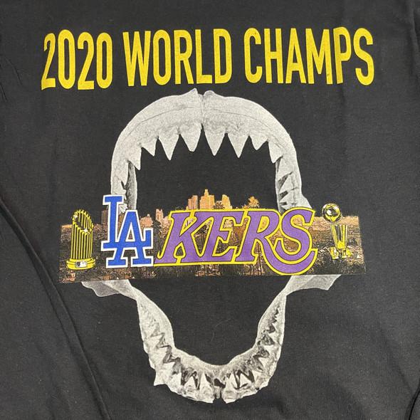 .Endangeredla 2020 Champions Tee Black Sz XXL