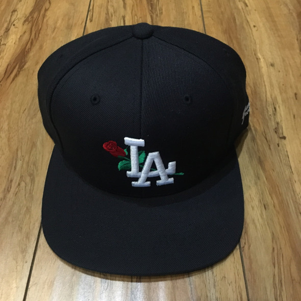 From The Ground Up LA Black Snap Back