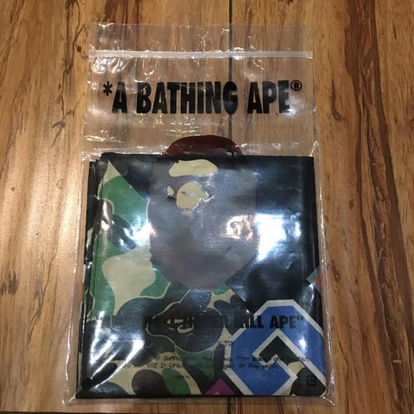 Bape ABC Shark Bandana Green Camo 1