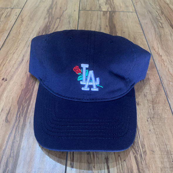 From The Ground Up LA Dad Hat Navy (#6849)