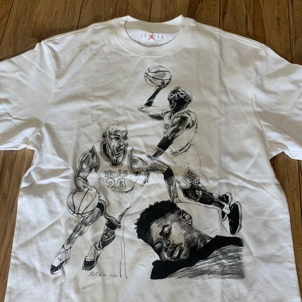 Nike Air Jordan x Off White Tee Sz S