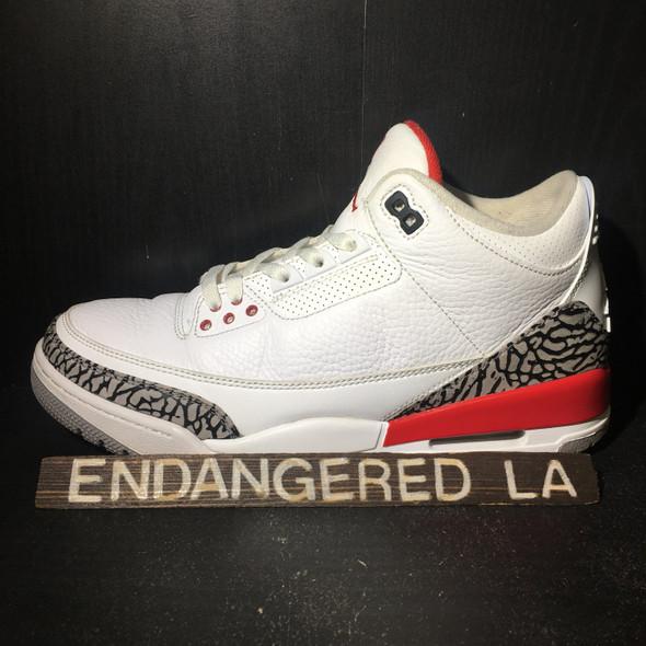 Air Jordan 3 Hall of Fame Sz 10