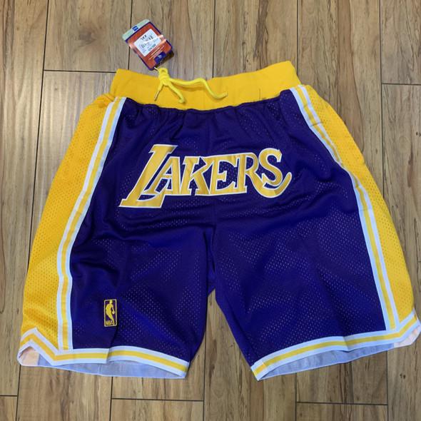 Lakers Shorts Sz XXL