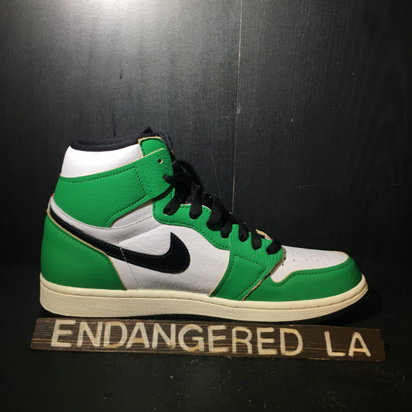 Air Jordan 1 Lucky Green Sz 9(W)