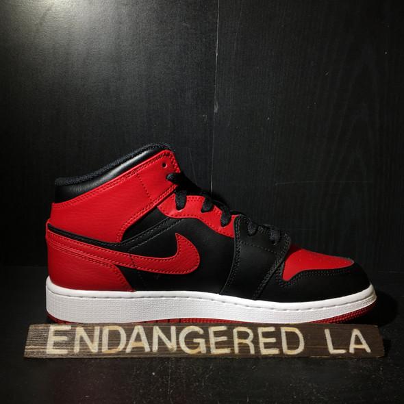 Air Jordan 1 Mid Bred Sz 7