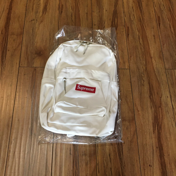 Supreme Backpack Canvas White F/W 20'