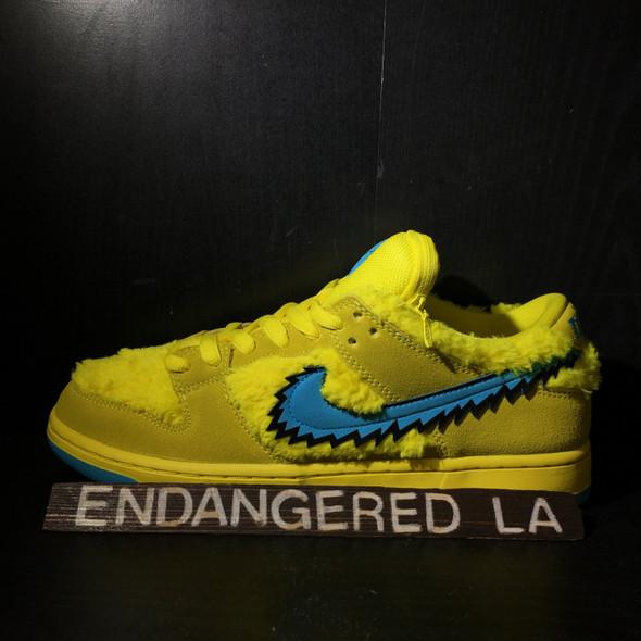 Nike SB Grateful Dead Yellow Sz 9