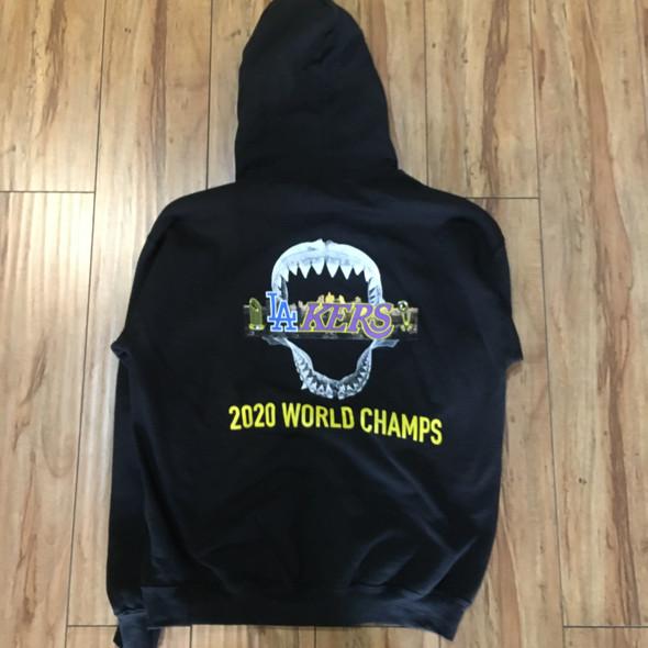 .Endangeredla 2020 Champions Hoodie Black Sz XXL