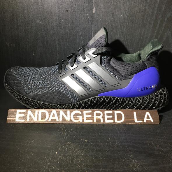 Adidas Ultra 4D Black Purple Sz 10
