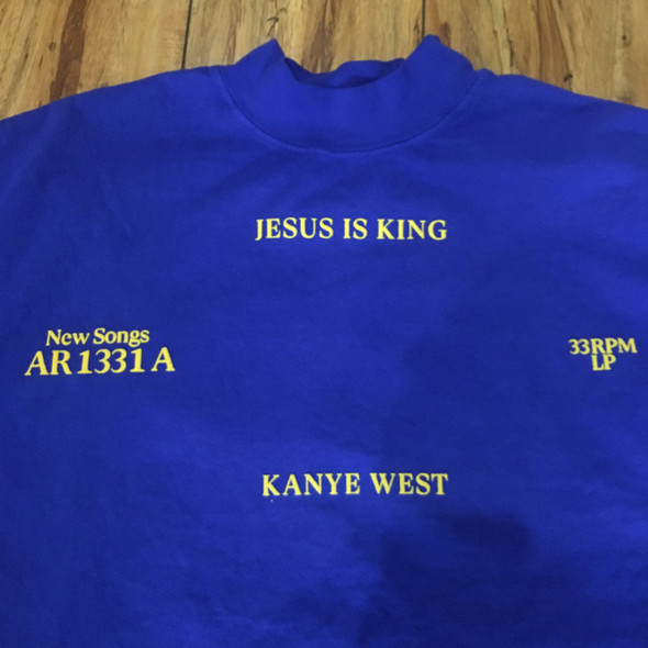 Kanye West Jesus Is King Shirt Sz M
