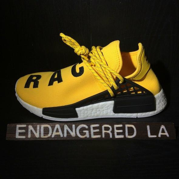 Adidas NMD Pharrell Human Race Sz 9.5 (#18050)