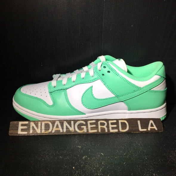 Nike Dunk Low Green Glow Sz 6M/7.5W (#18140)