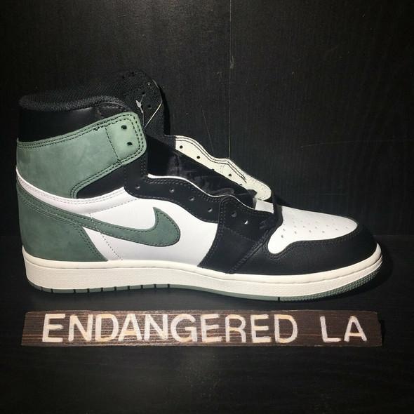 Air Jordan 1 Clay Green Sz 11.5 (#18186)
