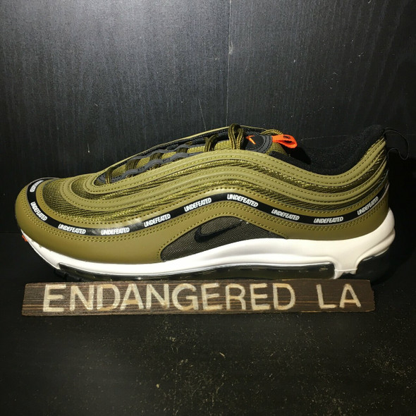 Nike Air Max 97 UNDFTD Black Militia Green 20' Sz 9 (#18189)