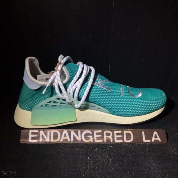 Adidas NMD HU Human Race Dash Green Sz 10 (#18193)