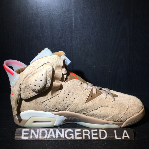 Air Jordan 6 Travis Scott Khaki Sz 12.5 (#18235)