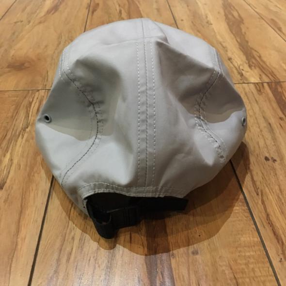 Supreme Hat Reversed Label Camp Cap Grey S/S21' (#7180)