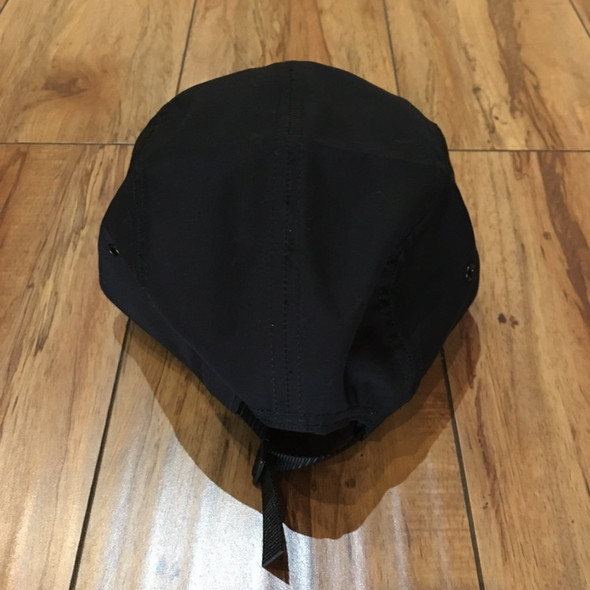 Supreme Hat Reversed Label Camp Cap Black S/S21' (#7179)
