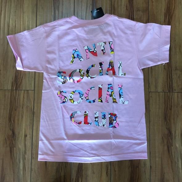 ASSC x BT21 Peekaboo Pink Tee Sz XS (#7184)