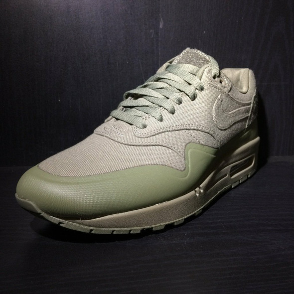 Nike Air Max 1 Patch Steel Green Sz 10 (#18494)