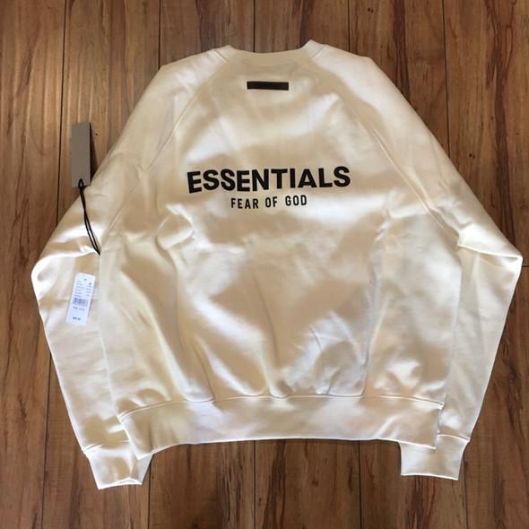 Fear Of God Essentials Crewneck Cream Sz S (#7250)