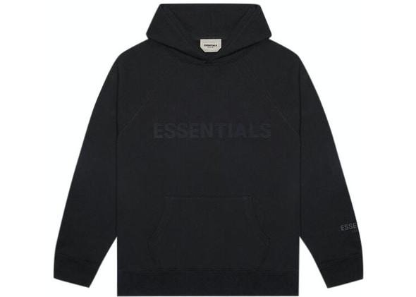 Fear of God Essentials Hoodie Black Sz S