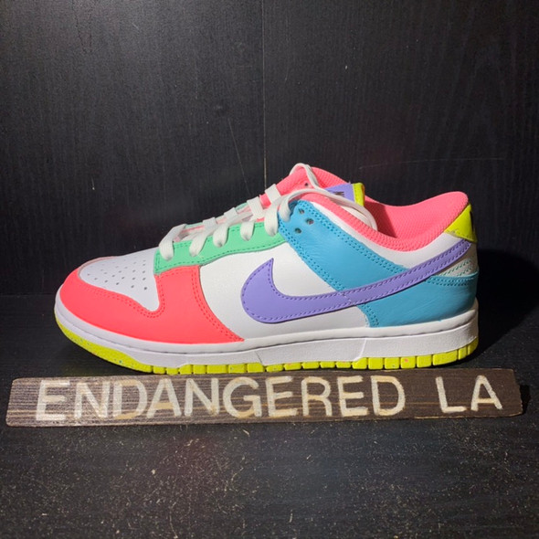 NIke Dunk Low Easter Candy Sz 6.5W (#18981)