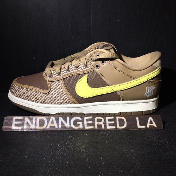 Nike Dunk Low UNDFTD Tan Sz 9 (#19843)