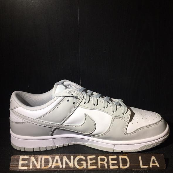 Nike Dunk Low Grey Fog Sz 8 (#20147)