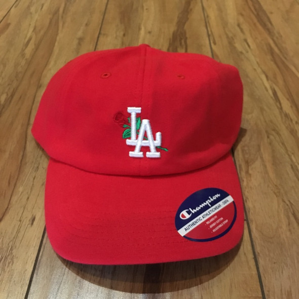 From The Ground Up LA Dad Hat Red