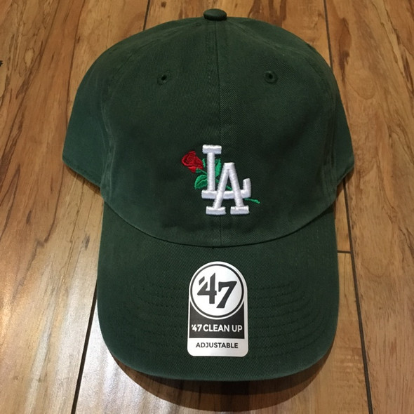 From The Ground Up LA Dad Hat Olive
