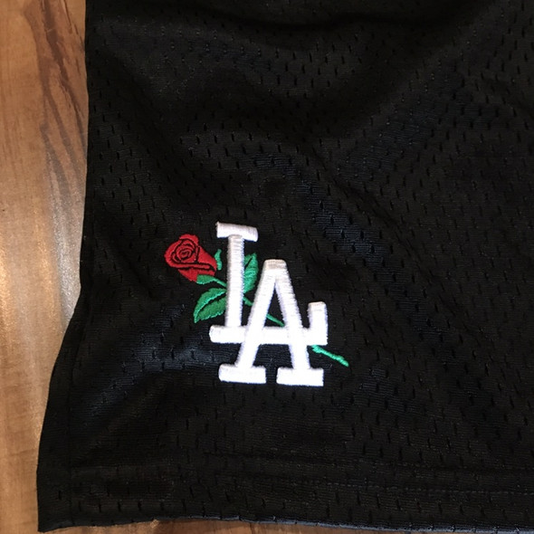 From The Ground Up LA Shorts Black Sz S