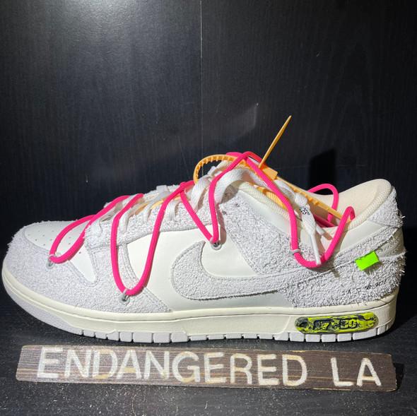 Nike Dunk Low Off White Lot 17 Sz 14 (#20209)